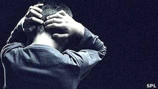 Человек, испытывающий сильный стресс