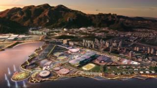 Projeto do Parque Olímpico Rio 2016. Divulgação