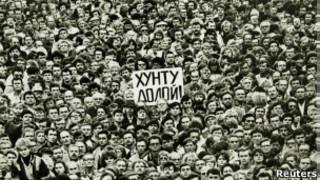 митинг на Дворцовой площади