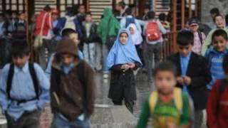 دانش آموزان افغان در کابل