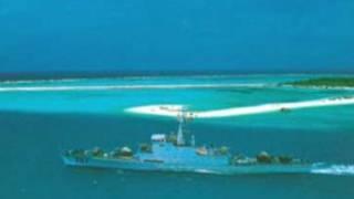Một góc quần đảo Hoàng Sa