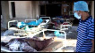 Gawawwaki a wani asibitin Libya