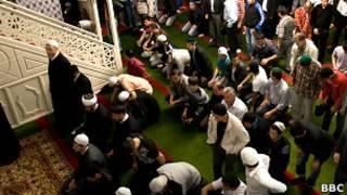 В мечети на Большой Татарской