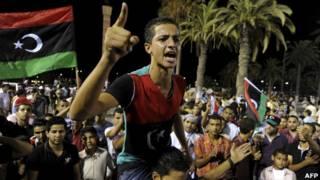 लीबिया में गद्दाफ़ी विरोधी