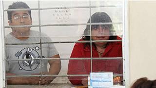 Os tuiteiros mexicanos María de Jesús Bravo Pagola e Gilberto Martínez Vera