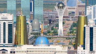 Астана, столица Казахстана