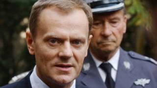 Fira Ministan Poland Donald Tusk