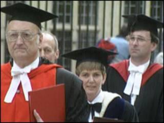 英国某大学管理者