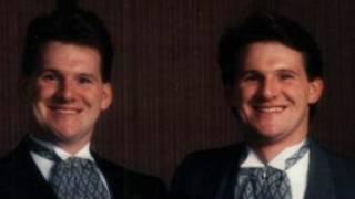 Greg e Stephen Hoffman (Foto: Arquivo pessoal - Divulgação)