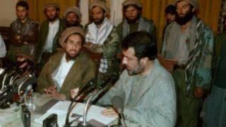 احمد شاه مسعود و مسعود خلیلی
