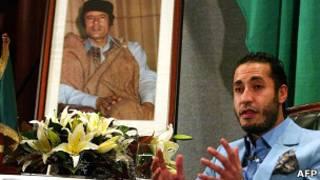 Saadi Khadafi, em 2005. AFP