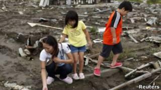 Dampak tusnami di Jepang