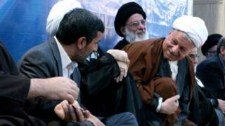 رفسنجانی - احمدی نژاد