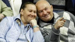 Елена Батурина и Юрий Лужков