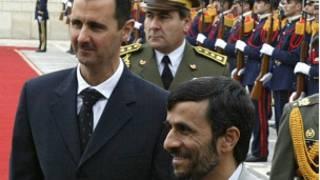 احمدي نژاد او بشارالاسد