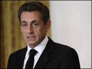 Shugaban Faransa, Nicolas Sarkozy