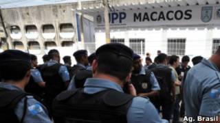UPP do Morro dos Macacos, inaugurada em novembro de 2010 (Foto: Ag. Brasil)