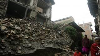 सिक्किम भूकंप