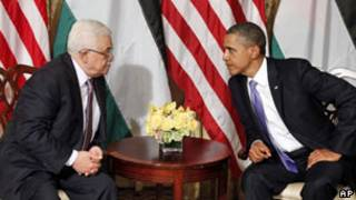 Mahmoud Abbas dan Barack Obama