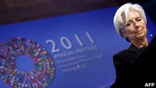 کریستین لاگارد، رئیس صندوق بین المللی پول