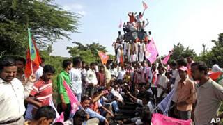तेलंगाना आंदोलन (फ़ाइल फ़ोटो)