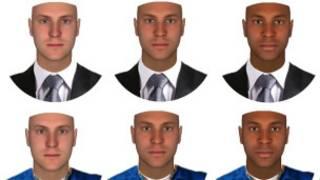 Estudo de percepção da raça. Foto: Tufts University