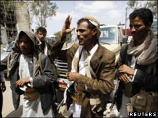 Dakarun adawa a Yemen