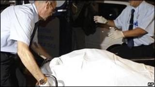 Жертва стрельбы в церкви