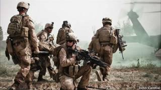 Tropas Afganistán