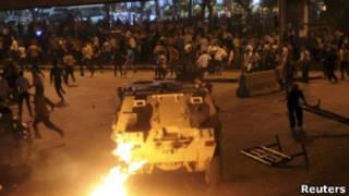 قاهره، درگیری قبطی ها و پلیس