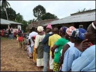 Masu zabe a Liberia