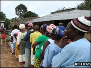 Ana zaben Shugaban Kasa a Liberia
