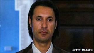 Mutassim Khadafi. Getty
