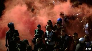 Демонстрация в Риме