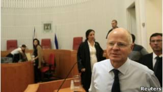 Noam Shalit, na Suprema Corte. Reuters