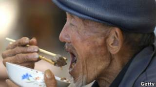 वृद्ध चीनी व्यक्ति