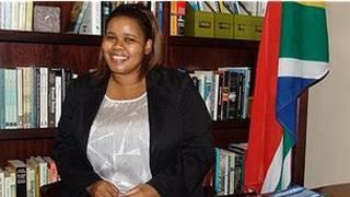 दक्षिण अफ़्रीकी नेता लिंडीवे माज़ीबुको