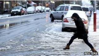 Tormenta de nieve en EE.UU. (imagen de archivo)