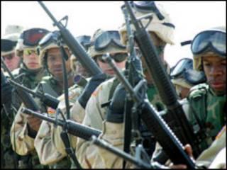 امریکايي پوځيان عراق کې