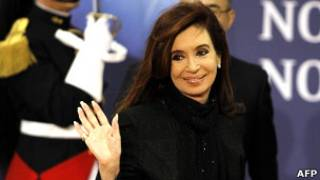 Cristina Kirchner. Foto: AFP