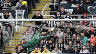Hekaheka katika lango la Everton