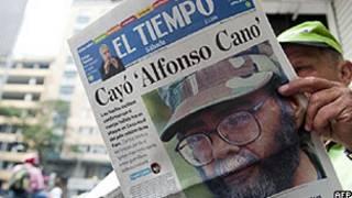 Jornal colombiano tem morte de Alfonso Cano na capa (arquivo/AP)
