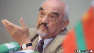 Глава Приднестровской республики Игорь Смирнов