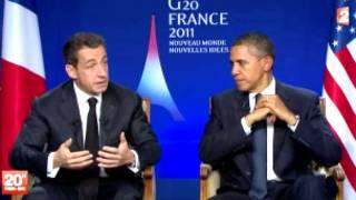 Sarkozy dan Obama