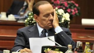 Berlusconi. AFP