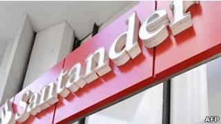 Banco Santander (Foto AFP)