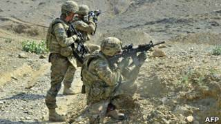 """Американские солдаты в Афганистане (не имеющие отношения к """"команде убийц"""")"""