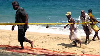 Fishermen is Sri Lanka