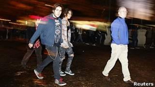 معترضان جنبش اشغال وال استریت در اوکلند