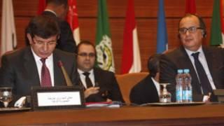 عرب لیگ کے اجلاس کی فوٹو